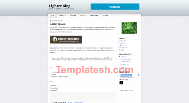 LightenBlog
