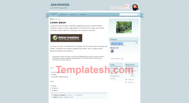 sanxionista blogger template