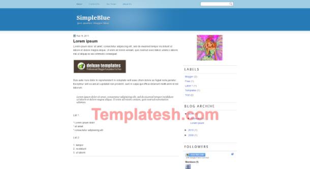 SimpleBlue